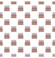 bottles of milk pattern seamless vector image