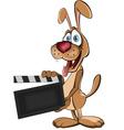 Director Dog vector image