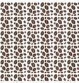Coffee pattern kitchen flat vector image