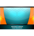 abstract octagon backgrounds design vector image