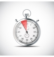 Realistic Stopwatch vector image vector image