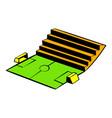 soccer stadium icon icon cartoon vector image