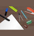 stationery paper background vector image