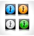 website GUI design vector image vector image