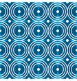 Blue circles seamless pattern vector image vector image