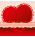 valentines day beautiful background vector image