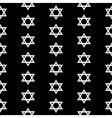 Magen David seamless pattern vector image