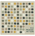 Abstract eco spots background vector image