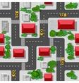Seamless pattern urban vector image