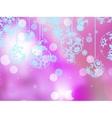 Elegant pink christmas background EPS 10 vector image vector image
