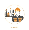 Oil industry Concept vector image