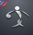 Summer sports basketball icon symbol 3D style vector image