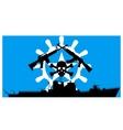 Somali pirates vector image