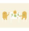 Money Eater vector image