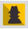 hacker thief man vector image