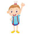 A kid vector image