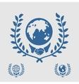 International Symbol Handshake vector image