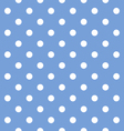 Seamless dots pattern vector image vector image