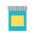 paint bottle isolated icon vector image