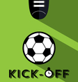 Kick-off vector image vector image