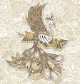 Bird Phoenix menndi vector image