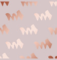 rose gold decorative pattern with abstract vector image