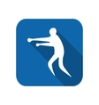 Sportsman man boxer vector image