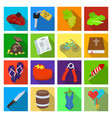 business tourism recreation and other web icon vector image