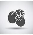 Bingo Kegs Iicon vector image