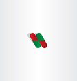 capsule pill pharmacy logo icon element vector image