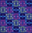 Infinity Circles Seamless Pattern vector image vector image