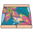 Shorts colorful vector image