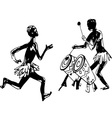 African people vector image