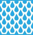 blue rain drop seamless pattern background water vector image
