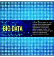 Abstract background for data theme vector image