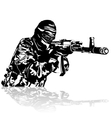The Warrior vector image vector image