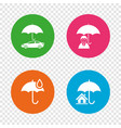 life real estate or home insurance icon vector image