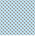 Blue and dark grey grid seamless background vector image