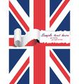 British flag vector image