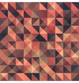Retro seamless triangle abstract pattern vector image