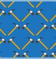 hammer seamless random pattern vector image