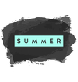 Summer Greeting Card Design vector image