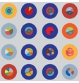 Infographic elements The set is round Items for vector image