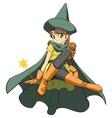 little fairy vector image