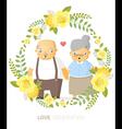 Love generation greeting card 4 vector image