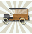 The fantastic truck vector image