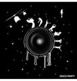 black vertolet jazz vector image vector image