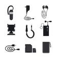 mobile accessories devices vector image