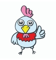 Chick kids t-shirt design cartoon vector image