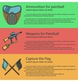 Paintball colored vector image